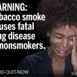 USA 2011 ETS general - second hand smoke, lung disease, woman crying