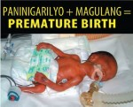 Philippines 2014 ETS baby - targets parents, premature birth (Filipino)