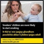 Malta 2016 ETS child - risk to start smoking - set 2