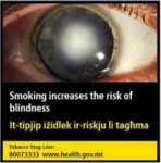 Malta 2016 Health Effects eye - blindness