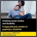 Malta 2016 Health Effects stroke - stroke and disability - set 2