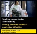 Malta 2016 Health Effects stroke - stroke, disability, wheelchair - set 3