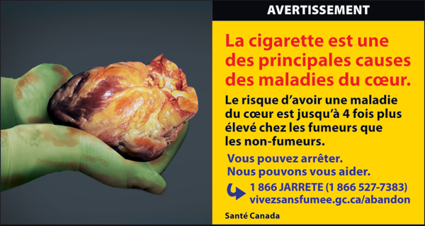 Canada 2012  Health Effects heart - diseased organ, heart disease - fr