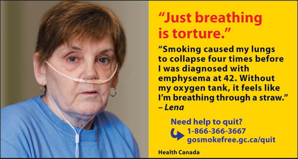 Canada 2012  Health Effects lung - lived experience, emphysema -eng