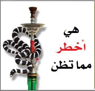 GSO 2011 Health Effects Other - shisha danger, snake image (Arabic)