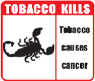 India 2008 Health Effects General (Smokeless Tobacco Products) - scorpion image
