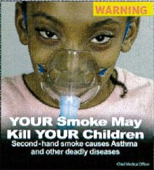 Jamaica 2013 ETS children - lived experience, mask asthma (back)
