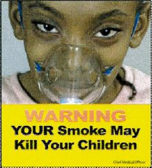 Jamaica 2013 ETS children - lived experience, mask asthma (front)
