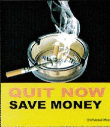 Jamaica 2013 Quitting - cost savings (front)