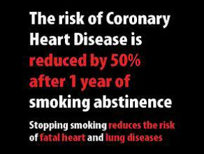 Jersey 2012 Quitting - health benefits, coronary heart disease, plain warning