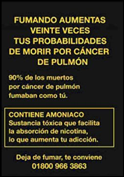 Mexico 2009 Health Effects lung - lung cancer, lived experience, quitting (Back)