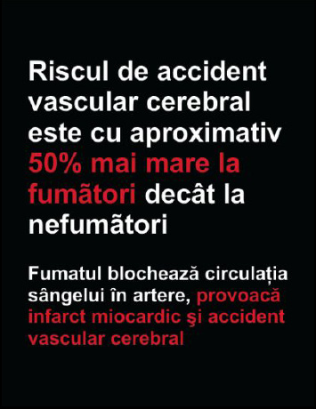 Romania 2008 Health Effects stroke - statistic, plain warning, Romanian