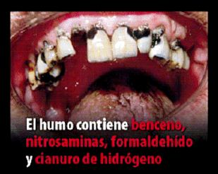 Spain 2011 Consituents - diseased organ, benzene, nitrosamines, formaldehyde, hydrogen cyanide