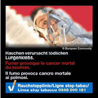 Switzerland 2014-2016 Health Effects lung - lived experience, lung cancer