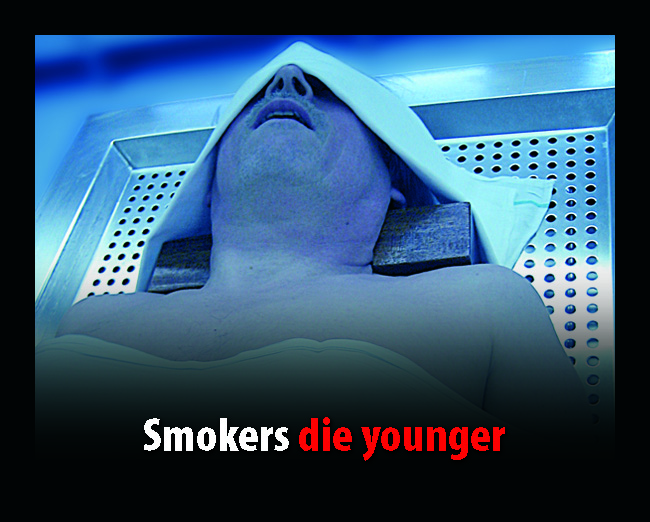 UK 2008 Health Effects death - lived experience, morgue, die younger