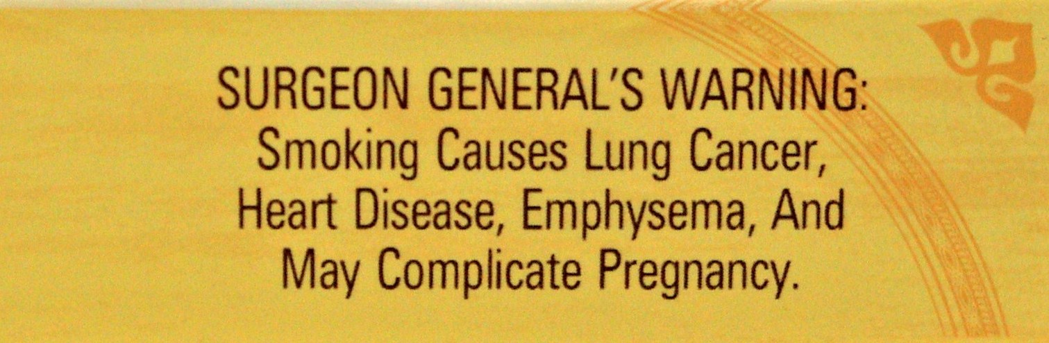 USA 1984 Health Effects Other - lung cancer, heart disease, emphysema, pregnancy complications, text