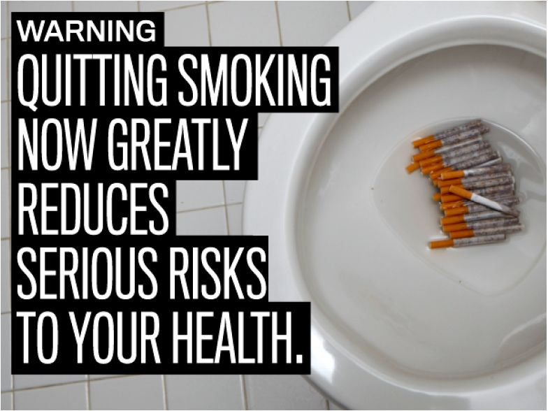 USA 2010 Quitting - reduced risk, flushing cigarettes, clever