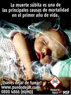 Uruguay 2009 ETS Child - Increased Risk of Sudden Death