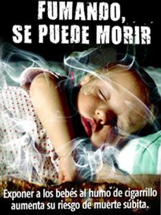 Uruguay 2009 ETS Child - Smoking increases sudden death