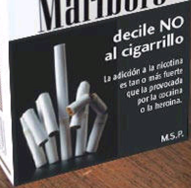 Uruguay 2005 Addiction - nicotine, clever