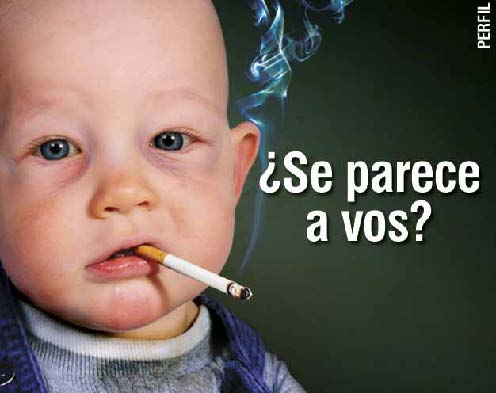 Uruguay 2008 Addiction - targets parents, children copying parents