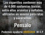 Uruguay 2008 Constituents - toxic substances, poison back