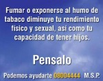 Uruguay 2008 Health Effects sex - reduced physicial and sexual drive, impotence back